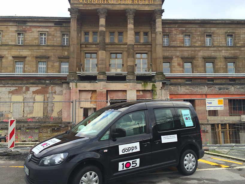 Der Döppersberg-Umbau macht mobil - döpps105 und Co...